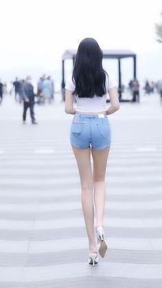 Beautiful Legs, Gorgeous Women, Classy Women, Sexy Women, Girl Fashion, Fashion Outfits, Womens Fashion, Sexy Pajamas, Cute Asian Girls