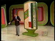 The Range Game on The Price Is Right with the beloved, animal-loving Bob Barker!  :)