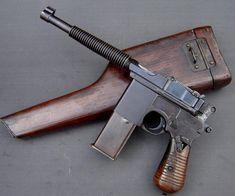 Las copias de prototipos y pistolas Mauser K-96 de producción española (click en…