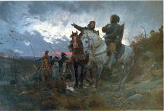 Otto Bache - De sammensvorne rider fra Finderup efter mordet på Erik Klipping 1286.
