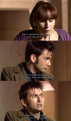 Donna always has a way of pointing things out to the Doctor.