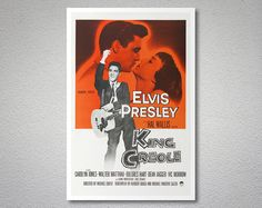 King Creole Movie Poster Elvis Presley  Poster Paper by WallsNeed