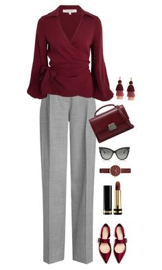 """Untitled #476"" by celishaviolet ❤ liked on Polyvore featuring Victoria Beckham, Yves Saint Laurent, Tom Ford, Skagen and Gucci"