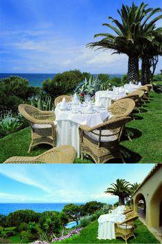 Vila Joya & Joy Jung Spa | Boutique Hotel | Portugal | http://lifestylehotels.net/en/vila-joya-joy-jung-spa | outside, terrace, restaurant, fancy, extravagant
