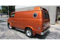 """1977 Dodge """"STREET VAN"""" custom show van."""