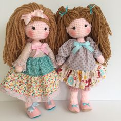 Amigurumi bff dolls