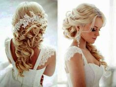 Wedding Hairstyles For Long Hair With Accessories Flowers ~ Creativehozz About Home Decorating Design, Entertainment, Kids, Creative, Crafts, Wedding