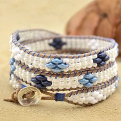 Seashore- Deep Blue – Beadshop.com
