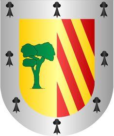 Escudo de armas apellido Sáenz, Sáinz, Sáez o Sáiz