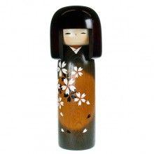 Spring Moon Kokeshi Doll £80