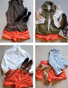 Stylized Existence: Coral Shorts Four Ways