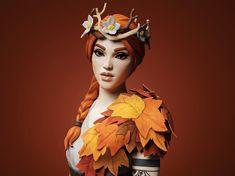 Princess Zelda, Autumn, Queen, Twitter, Fictional Characters, Art, Art Background, Fall Season, Kunst