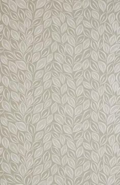 Leaves - Dove Grey with White  roll 10mx52cm  £55