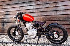 RS3Custom: Yamaha SR125 Bratstyle