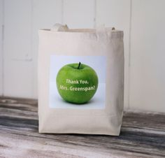 The+Teacher's+Apple++Personalized+Teacher's+by+BucktoothedBunny,+$16.00