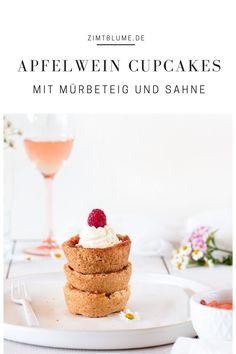 Knusprige Apfelwein Cupcakes jetzt auf Zimtblume.de