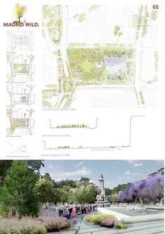 Estas son las propuestas que compiten para remodelar la Plaza España en Madrid,Madrid wild. Image © Difusión Ayuntamiento de Madrid
