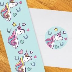 Unicorn Stickers for Party Favors or Envelope Seals, 30 count, 2 inch Do It Yourself Projects, Make It Yourself, Sticker Paper, Stickers, Unicorn Party Supplies, Party Themes, Theme Parties, Party Ideas, Unicorn Birthday Parties