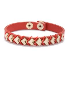 RACHEL Rachel Roy Soft Heart Snap Bracelet, $19; rachelroy.com #bracelets #budget