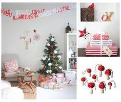 2011 Christmas Decor Trend: Red, White, and FOLK! #christmas #folk #holiday