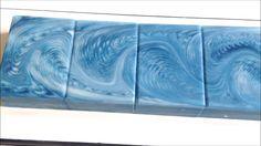 Video: ZigZag Cosmic Wave - In the Pot Swirl Soap - Fraeulein Winter