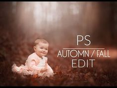 (18) Fall/Automn Warm Edit Autumn | Photoshop Tutorial - YouTube