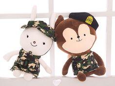 Descendants of the Sun Song Joon Ki Song Hye Kyo Fox Rabbit Plush Doll