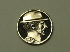 Hobo Nickel by John DeMarco Hobo Nickel, Buffalo, Personalized Items, Ebay, Water Buffalo