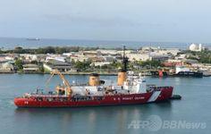 米ハワイ(Hawai)のホノルル(Honolulu)に停泊する米沿岸警備隊(US Coast Guard)の砕氷船「ポーラースター(Polar Star)」号(2013年12月13日撮影)。(c)AFP/US COAST GUARD PO3/Tara Mol ▼6Jan2014AFP 南極海、ロシア船乗客救助の中国船も立ち往生 http://www.afpbb.com/articles/-/3006066 #US_Coast_Guard #Polar_Star #USA #Hawaii #Honolulu