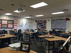 High school classroom organization Arranging the desks