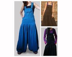 Aladdin Harem  Jumpsuit - Overall - Women - Cotton. $45.00, via Etsy.