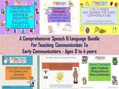 Twin Sisters Speech & Language Therapy: A Comprehensive Bundle For Eliciting Communication In The Pre-K Population