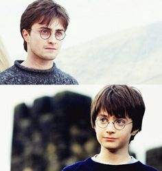 Find images and videos about harry potter and daniel radcliffe on We Heart It - the app to get lost in what you love. Harry James Potter, Harry Potter World, Mundo Harry Potter, Harry Potter Films, Harry Potter Universal, Daniel Radcliffe, Harry E Hermione, Harry Harry, Yer A Wizard Harry