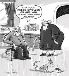 Funny Old People Jokes Cartoons | Never Too Old To Troll