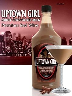 UPTOWN GIRL CHOCOLATE WINE Delicious Recipes, Easy Recipes, Easy Meals, Yummy Food, Chocolate Wine, Chocolate Liqueur, Cocktail Drinks, Cocktails, Grape Juice