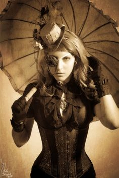inspirational Steampunk style!