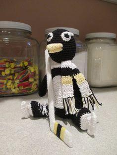 Amigurumi Pittsburg Penguin