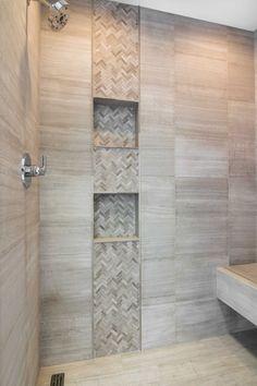 Image result for vertical tile in shower