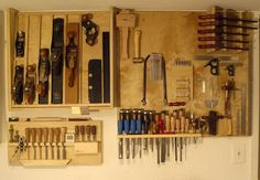 WoodNet Forums: Show me your plane cabinet/rack