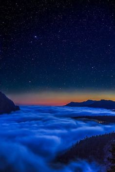 Valley Fog, Mt. Rainier, Washington photo via marianne