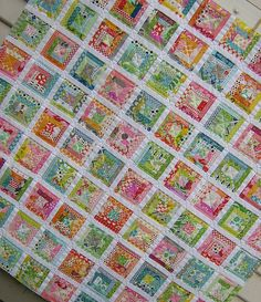 Gorgeous (as always) work from Rita (Red Pepper Quilts)