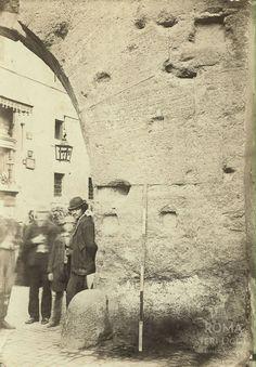 Arco dei Pantani (Parker, 1867-68) Rome, Arch, Italia, Photos, Fotografia, Old Photographs, Rum, Rome Italy