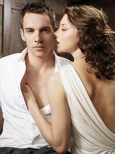 I love Jonathan Rhys Meyers and Natalie Dormer... AKA King Henry VIII and Queen Anne Boleyn. Great actors.