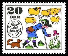 Image result for ddr postage stamp sheep