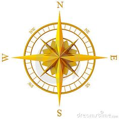 Compass Rose Stock Image - Image: 4769081