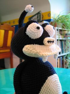 This is a medium to advanced amigurumi pattern.