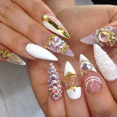 Fashion, Beauty, Luxury & Manicured Nails