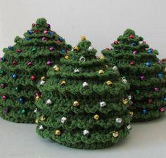 Beaded Christmas Tree Hat