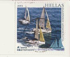2013~~Greece Stamp Andorra, Sailing Ships, Stamps, Boat, Seals, Greece, Boats, Dinghy, Postage Stamps