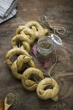 TARALLI DI SAN BIAGIO - Typical bagels sweet or salty that are blessed on the occasion of the feast of the saint and are given away to friends and family #food  #Italy